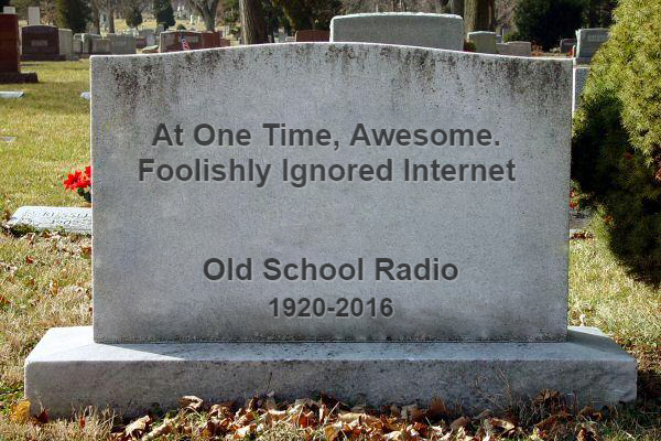 Radio Declines While Podcasting & Streaming Grow.