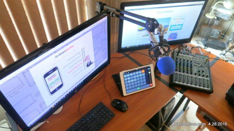 Disrupting Radio & Newspaper. Podcast Powers Web in Atlantic City