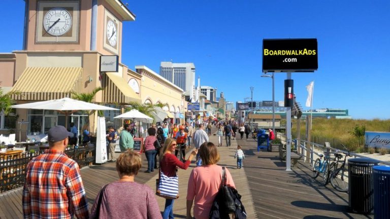 Digital Outdoor Advertising in Atlantic City – Boardwalk ADS