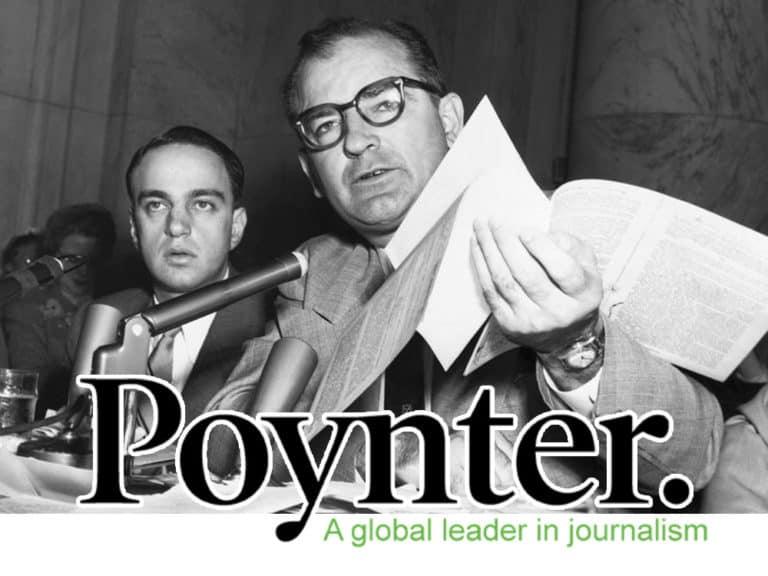Poynter Scandal – Why Very Few Trust Newspapers & Mainstream Media